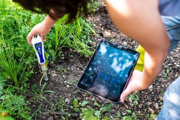 Medidor de Ph digital para jardineria
